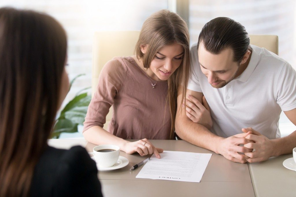 couple investing in a home